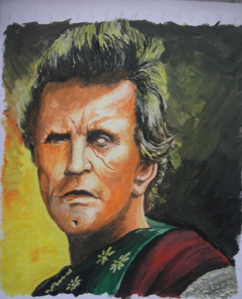Kirk Douglas par SPYRICO